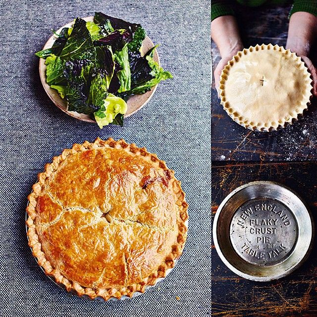 """To come home to this pie is a gift. In my office, we say that if you cook if for your loved one, it's the dish that gets you married. Master it and good things will happen - say no more!! Guilty pleasure - chicken and mushroom pie #comfortfood"""