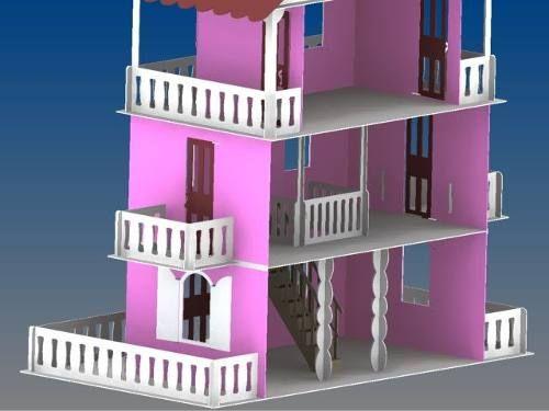 casa de boneca - casinha de bonecas - barbie princesa grande