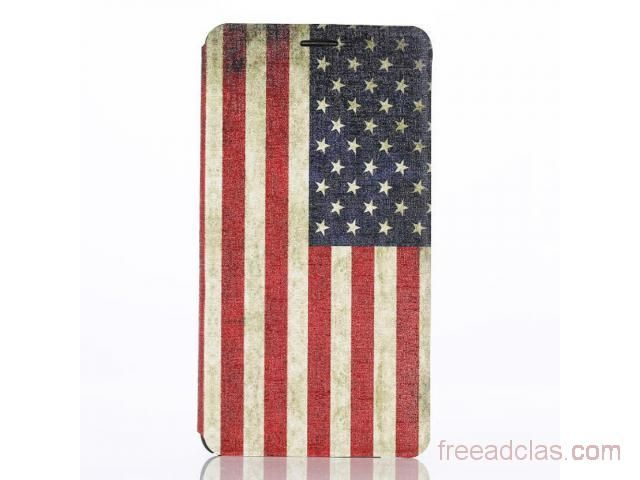 US Flag Case for Samsung Note 4 HQ