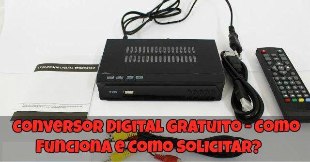 → Kit Gratuito TV Digital ✓ Conversor Digital Gratuito ✓ Antena Digital Grátis ✓ Conversor Digital Grátis ✓ Quem tem direito ✓ Como receber