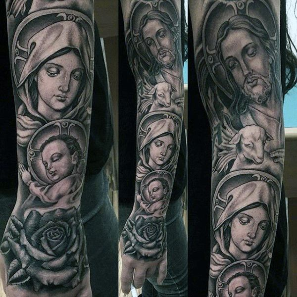 1000 ideas about religious tattoos for men on pinterest family tree tattoos religious. Black Bedroom Furniture Sets. Home Design Ideas
