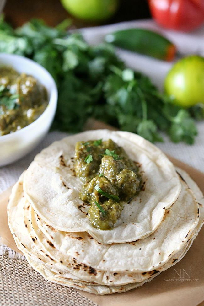 chile verde uses fresh roasted hatch green chiles and lots of roasted ...