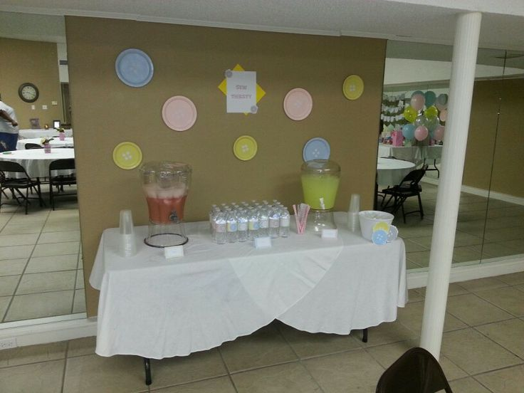 baby shower drink table party ideas pinterest babies baby