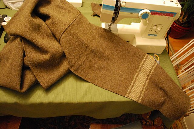 Capote coat tutorial with many great suggestions.  There are no finished pictures, but the ideas and suggestions here are worth checking out.