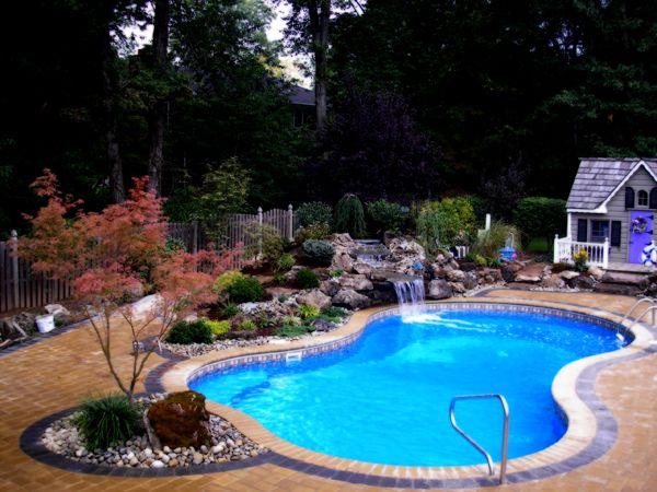 Die besten 25+ Beckenformen Ideen auf Pinterest Garten pool - schwimmbad im garten