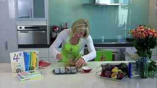 Chocolate Mousse Muffins, 4 Ingredients, Lunches & Snacks, Cooking with Kim