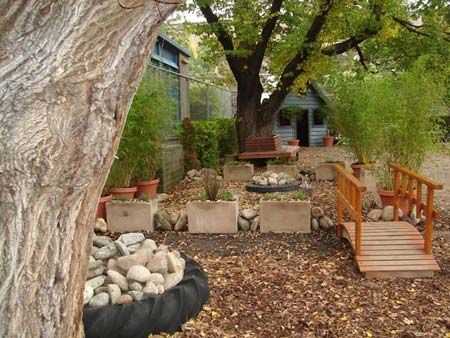 A list of outdoor play space ideas for pre-school