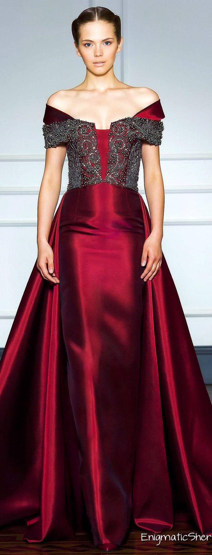 Dilek Hanif Haute Couture Fall Winter 2014-15                                                                                                                                                      Mais