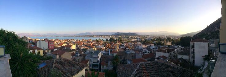Panoramic view from our terrace!!