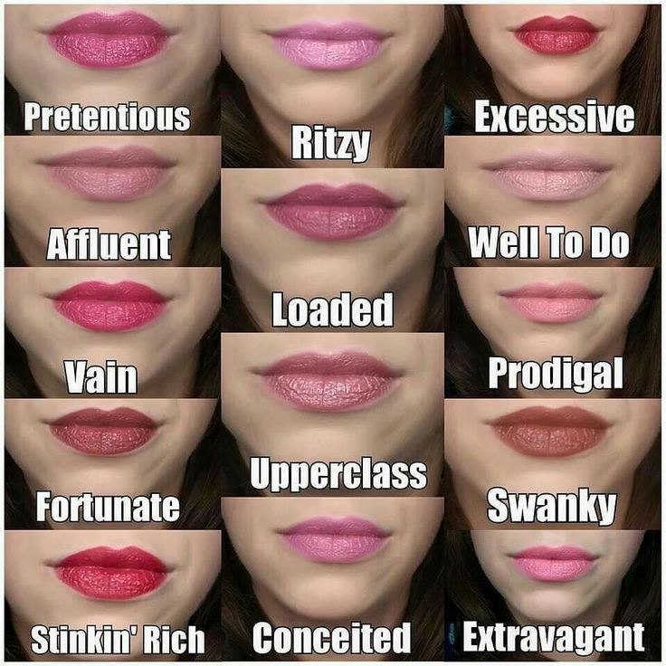 We have a lipstick for every outfit. Pick your favorite at www.yourmakeupcoach.com   Younique