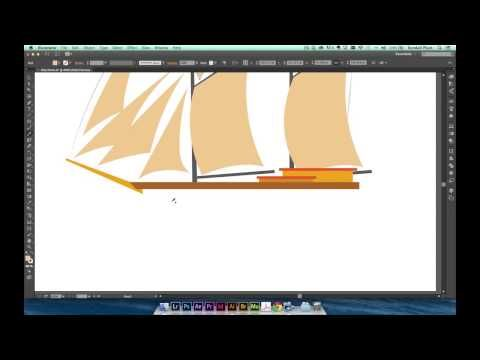 ILLUSTRATOR TUTORIAL  How to use the all-new Pencil Tool in Illustrator video 2