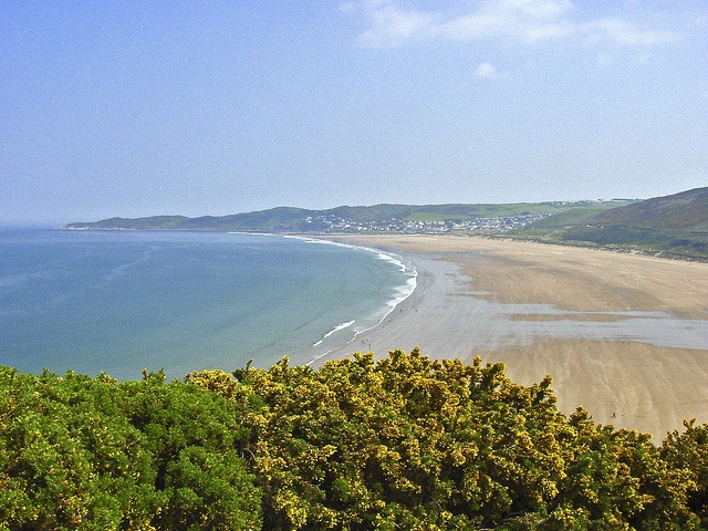 Woolacombe Beach and Morte Point, Devon. Photographer Ted Forman, Warlingham, Surrey, via Flickr.
