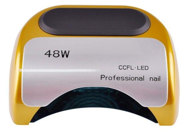 48 W Nail Droger-UV lamp voor nagellak UV Gel snelle droge CCFL LED Nail gereedschap met automatische sensor Salon Beauty apparatuur
