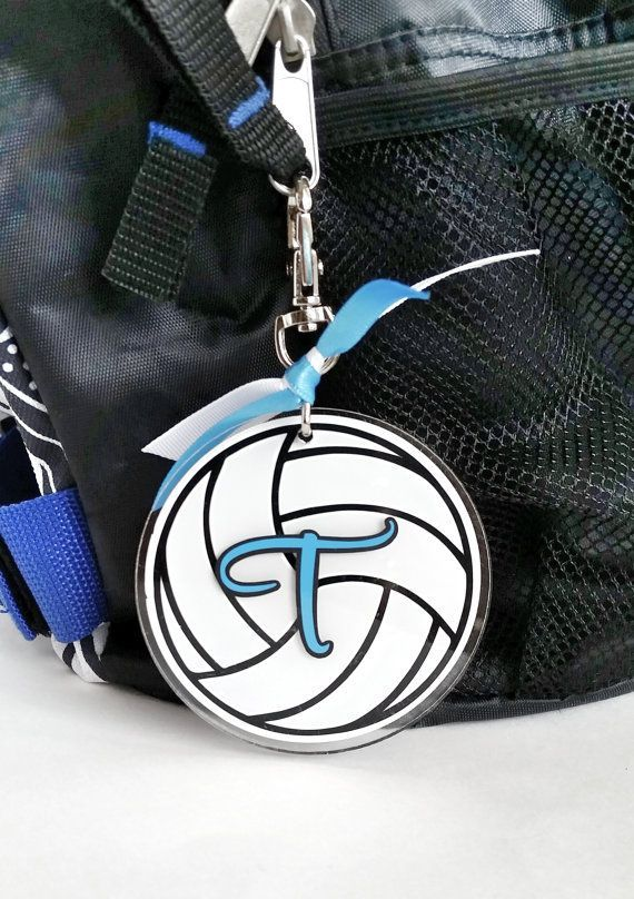 344e7957492 Personalized Volleyball Bag Tag - custom luggage tag - backpack tag ...