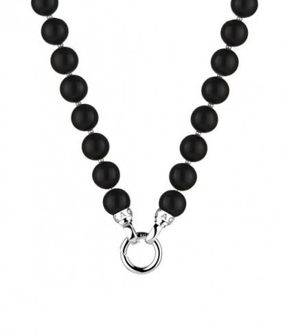 Kagi hanging beaded necklace