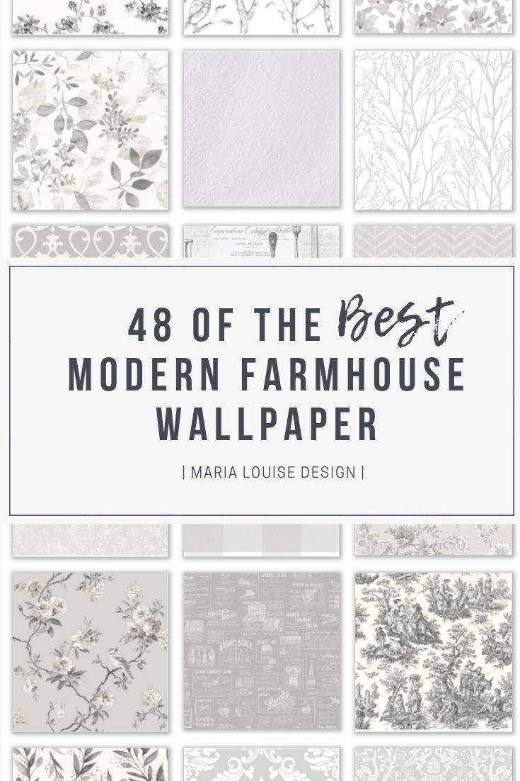 48 Of The Best Modern Farmhouse Wallpaper Farmhouse Wallpaper