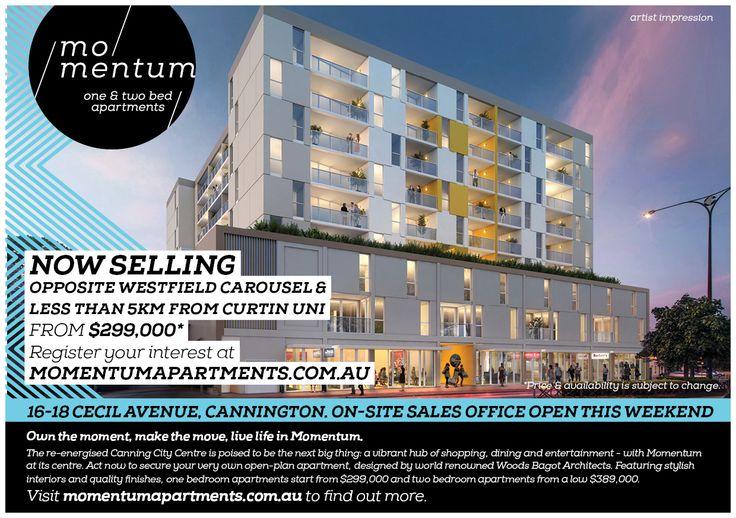 Momentum Apartments Letterbox Drop (front)