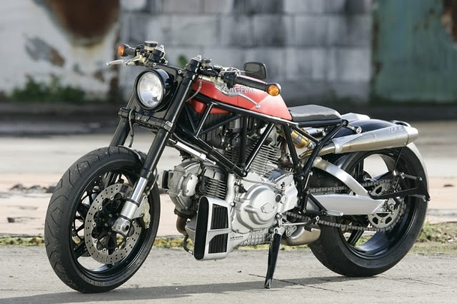 """Ducati 900 SS '02 """"Flat Red"""" by JvB.  YES PLEASE!!!!!900 Ss, Motorcycles Porn, Ducati Flats, Jvb Ducati, Cafes Racers, Jvb Moto, Ducati Motorcycles, Ducati 900, Flats Red"""