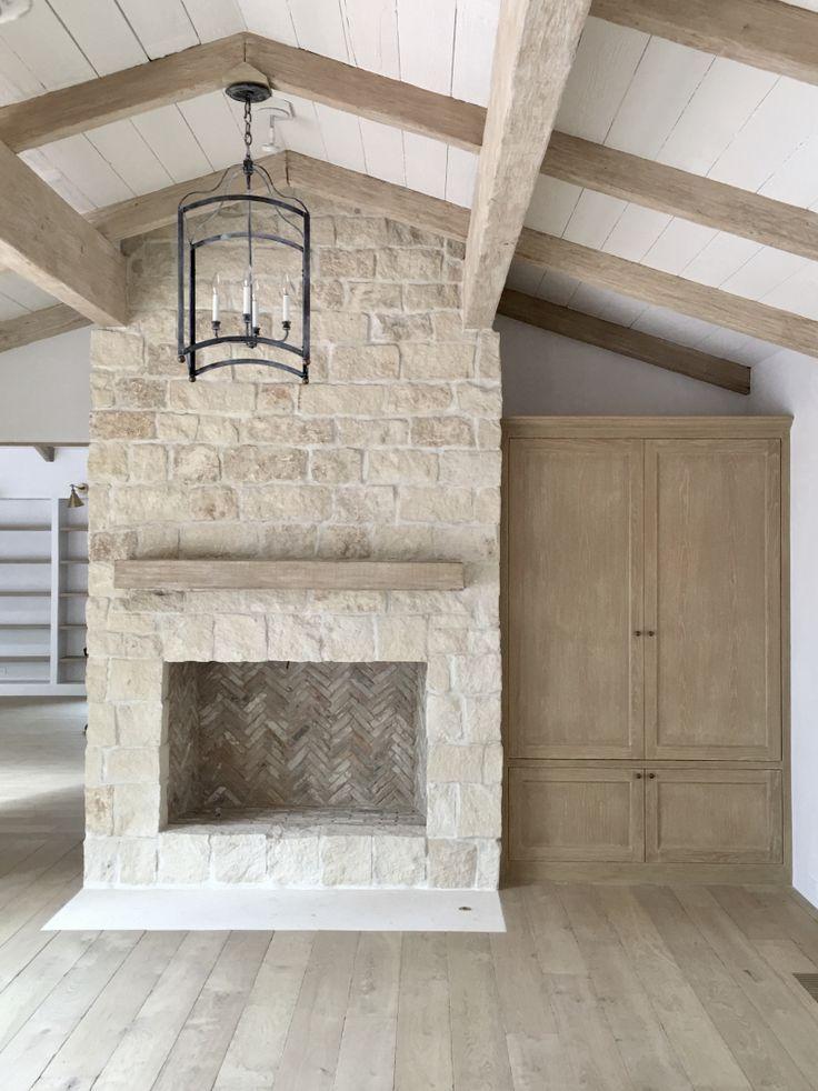 Best 20 Limestone Fireplace Ideas On Pinterest