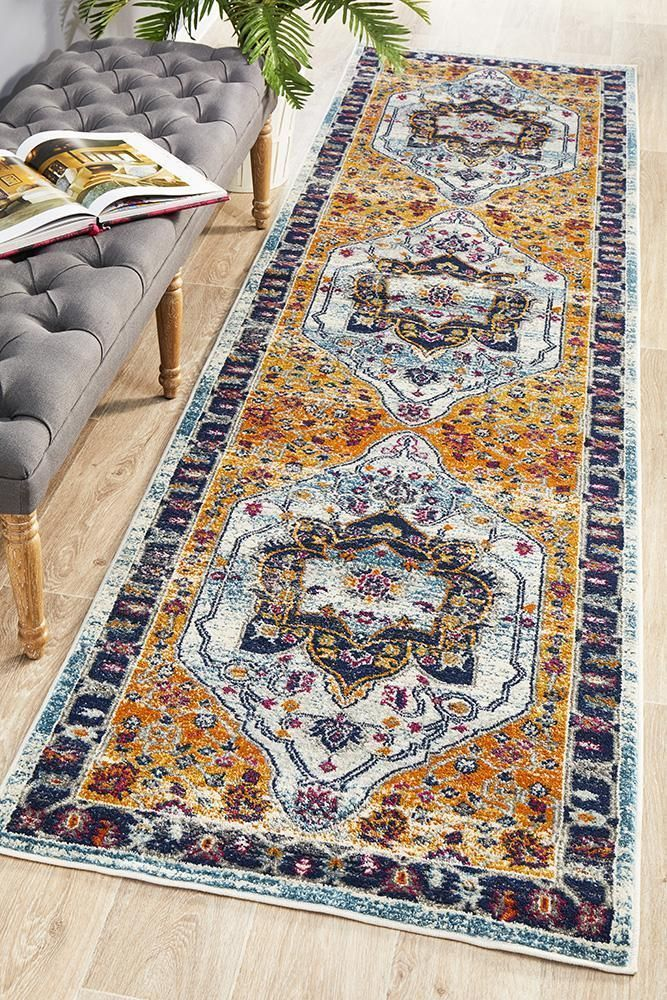 Eclectic Twooone Rust Runner Rug In 2020 Rug Runner Area Carpet Rugs On Carpet