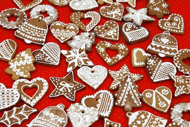Пряное имбирное рождественское печенье - рецепт
