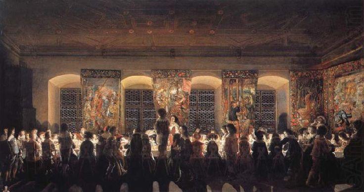 Nocturnal banquet, Wolfgang Heimbach