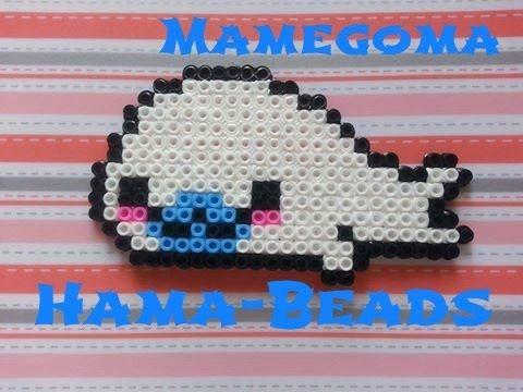✿ Mamegoma Hama Beads Tutorial ✿