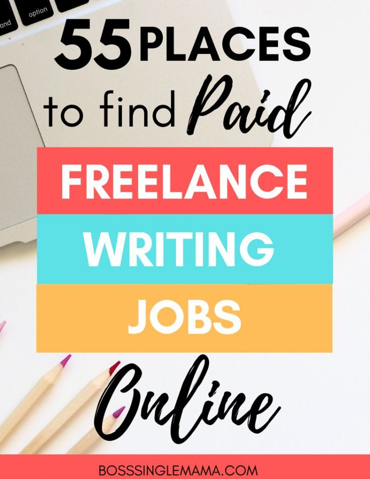 55 Places To Find Paid Freelance Writing Jobs Online Write To Six Figures Writing Jobs Online Writing Jobs Freelance Writing Jobs