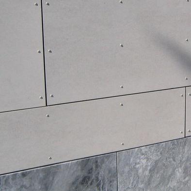 "by Brett Webber Architects, PC  ""Cembonit fiber cement panels for rainscr"""
