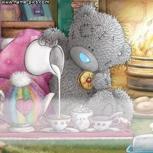 Tatty Teddy!! GOOD MORNING TO ALL OF MY PINTEREST PALS AND FOLLOWERS! Debby :)