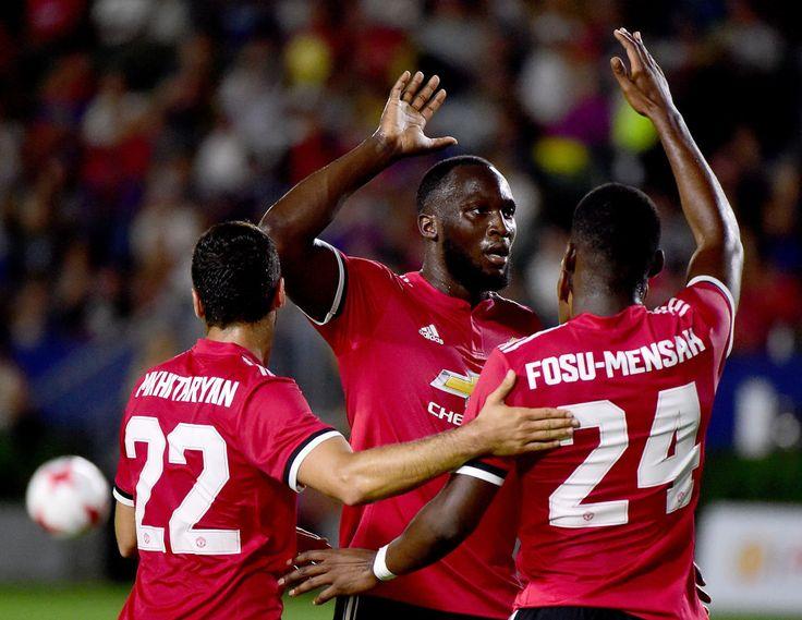 Manchester United: Watch Romelu Lukaku Score His First Goal For Jose Mourinho's Team