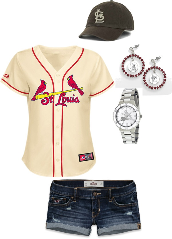 """""""Cardinals Game Day"""" by cdkelly on Polyvore"""