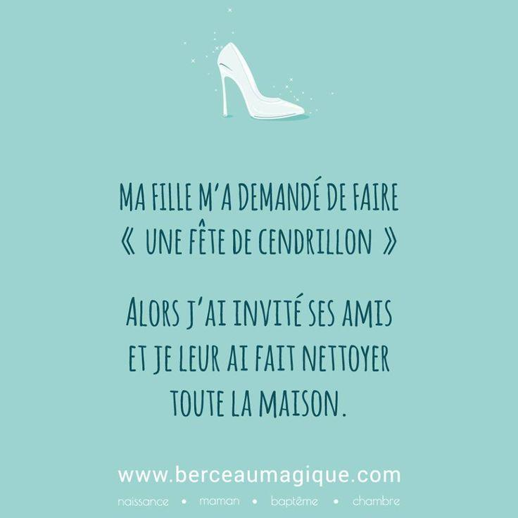 Citation féerique du vendredi #vismaviedeparent #lesenfantssontformidables #citation #cendrillon #berceaumagique #parentépuisé