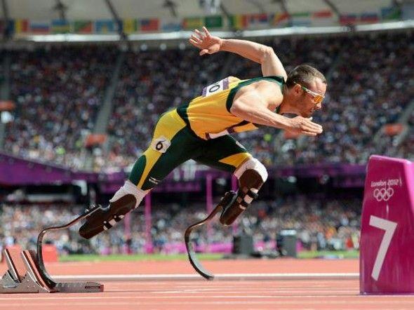 「ブレードランナー」の異名を持つ両脚義足の南アフリカ代表オスカー・ピストリウス選手がロンドンオリンピック陸上400mで準決勝に進出!! | コモンポストムービー