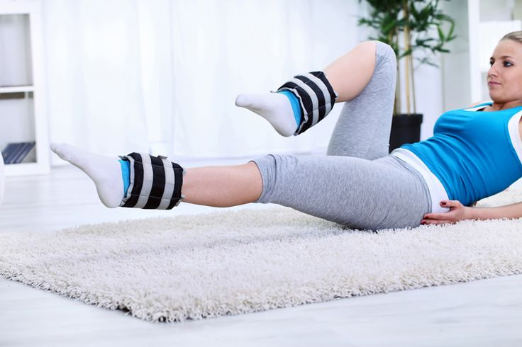 Ankle weights are great for increasing the intensity of lower body workouts. This ankle weight workout targets your butt to lift, shape, and tone.