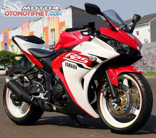 Yamaha R25 modif