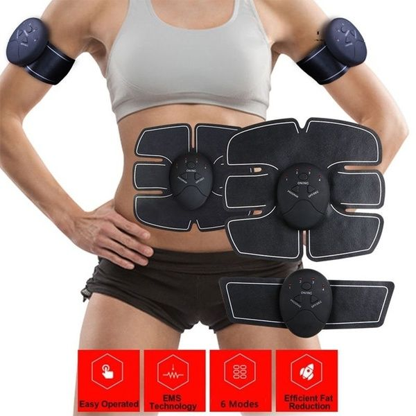 Healthy Magic Abdominal Muscle Trainer Gear Abs Fit Home Exercise Shape Body Building Wish Muscle Training Ab Trainer Muscle Stimulator