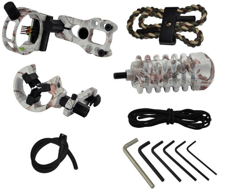 Archery Upgrade Combo Bow Sight Kits Arrow Rest Stabilizer Compound Bow Accessories for Compound Bow, Free shipping