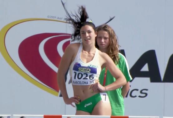 My new favorite athlete! Michelle Jenneke