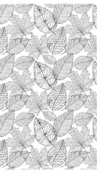 Zen Coloring Nature Adult Book Kays Crochet Patterns
