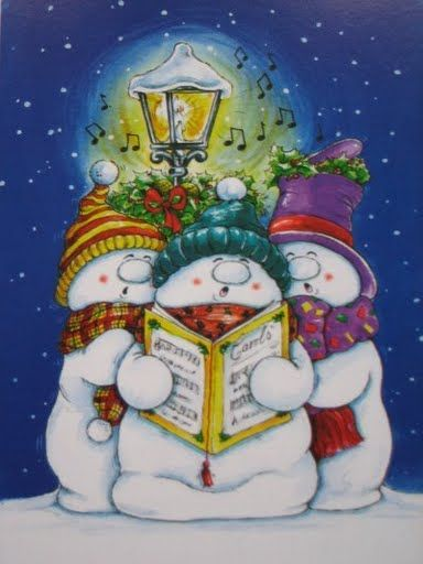 Snowmen sing your heart out!                                                                                                                                                                                 More