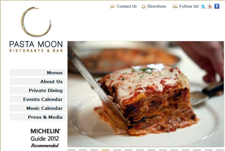 Pasta Moon in Half Moon Bay, CA has the best pasta ever! They make everything in house and fresh (yes, they make the pasta). This inspired me to make my own and now I always do, no more box pasta for me! The Owner Kim is amazing!!  http://www.pastamoon.com/