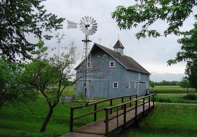 Russian German mennonite barn in Kansas.