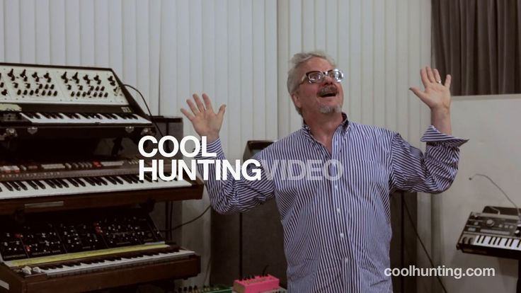 Mark Mothersbaugh of Devo (and various soundtracks) in his fame Mutato Muzika studio in Los Angeles.