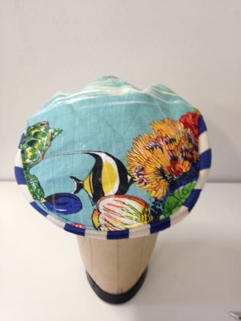 Summer cap- Gold coast | Serena Lindeman Millinery. Available on site by following link. Free postage.