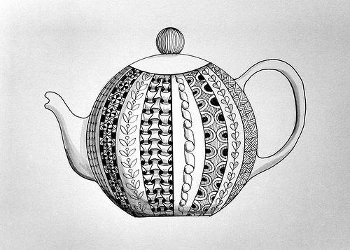 Zentangle Teapot | Flickr - Photo Sharing! in 2019 ...