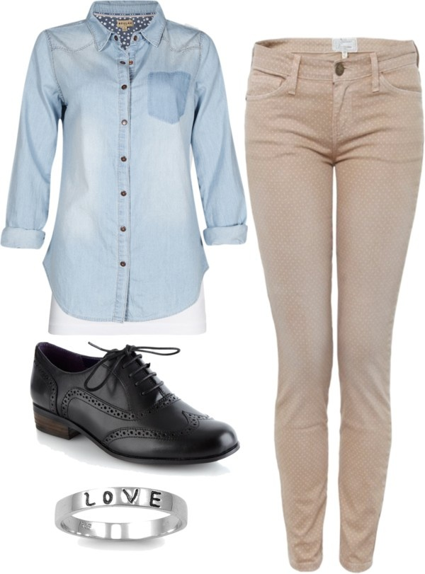 """""""School Outfit"""" by michelly-103 ❤ liked on Polyvore"""