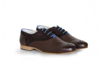 JOHN - CUIR / SUEDE MARRON #derbies #boots #shoes #men #leather #desertboots