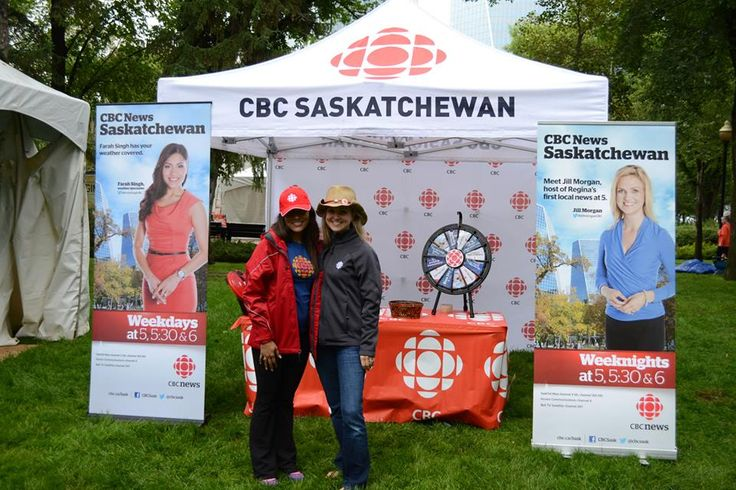 CBC Sask weather specialist Farah Singh and CBCTV News