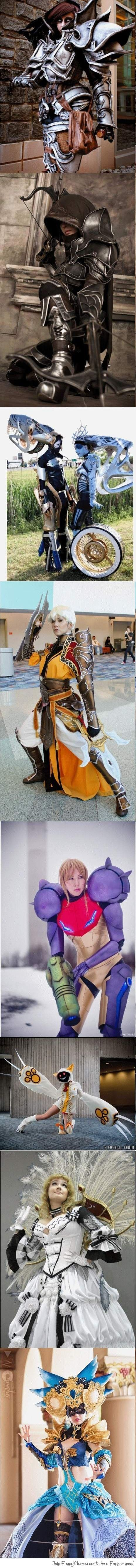 Girls can make awesome cosplay without being naked